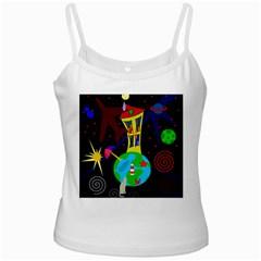 Colorful universe Ladies Camisoles
