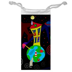 Colorful universe Jewelry Bags