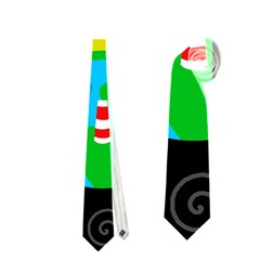Colorful universe Neckties (Two Side)