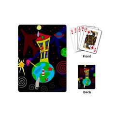 Colorful universe Playing Cards (Mini)
