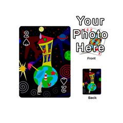 Colorful universe Playing Cards 54 (Mini)