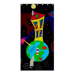 Colorful universe Shower Curtain 36  x 72  (Stall)