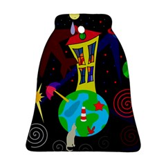 Colorful universe Ornament (Bell)