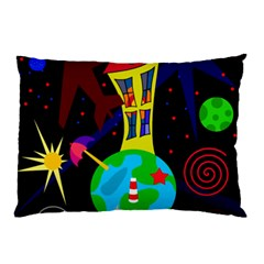 Colorful universe Pillow Case (Two Sides)