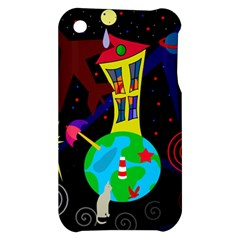 Colorful universe Apple iPhone 3G/3GS Hardshell Case