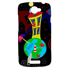 Colorful universe HTC One S Hardshell Case