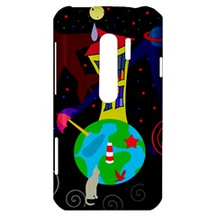 Colorful universe HTC Evo 3D Hardshell Case