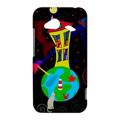 Colorful universe HTC Droid Incredible 4G LTE Hardshell Case