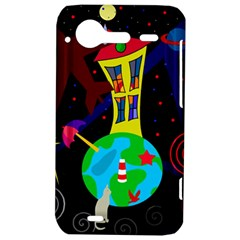 Colorful universe HTC Incredible S Hardshell Case