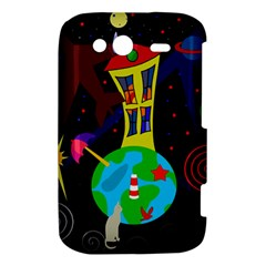 Colorful universe HTC Wildfire S A510e Hardshell Case