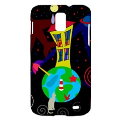 Colorful universe Samsung Galaxy S II Skyrocket Hardshell Case