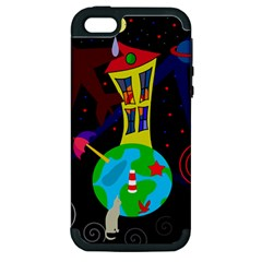 Colorful universe Apple iPhone 5 Hardshell Case (PC+Silicone)