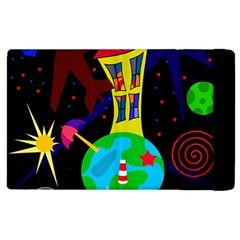 Colorful universe Apple iPad 3/4 Flip Case