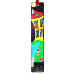 Colorful universe Large Book Marks