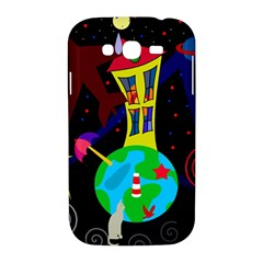Colorful universe Samsung Galaxy Grand DUOS I9082 Hardshell Case