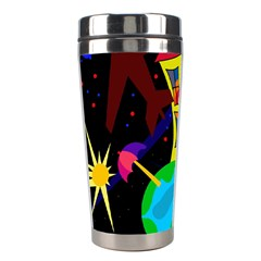 Colorful universe Stainless Steel Travel Tumblers