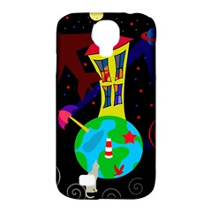 Colorful universe Samsung Galaxy S4 Classic Hardshell Case (PC+Silicone)