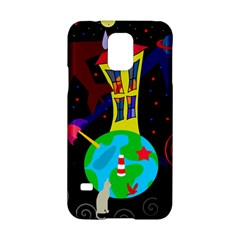 Colorful universe Samsung Galaxy S5 Hardshell Case
