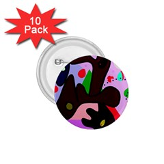 Decorative abstraction 1.75  Buttons (10 pack)