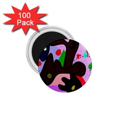 Decorative abstraction 1.75  Magnets (100 pack)