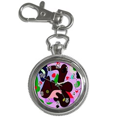 Decorative abstraction Key Chain Watches