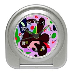 Decorative abstraction Travel Alarm Clocks
