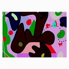 Decorative abstraction Large Glasses Cloth (2-Side)