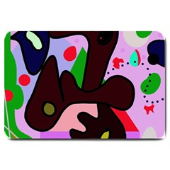 Decorative abstraction Large Doormat