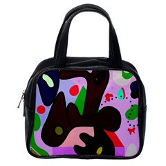 Decorative abstraction Classic Handbags (One Side)