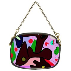 Decorative abstraction Chain Purses (One Side)