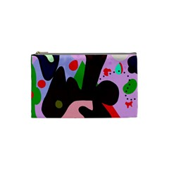 Decorative abstraction Cosmetic Bag (Small)