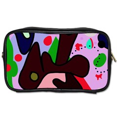 Decorative abstraction Toiletries Bags