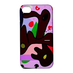 Decorative abstraction Apple iPhone 4/4S Hardshell Case with Stand