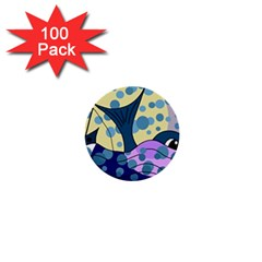 Whale 1  Mini Buttons (100 pack)