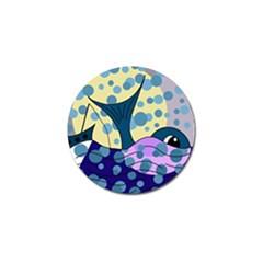 Whale Golf Ball Marker