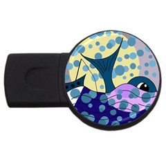 Whale USB Flash Drive Round (2 GB)