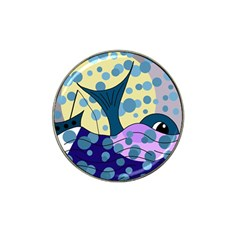 Whale Hat Clip Ball Marker (4 pack)