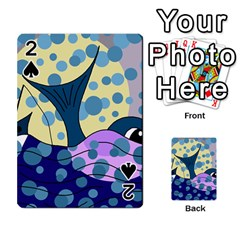 Whale Playing Cards 54 Designs