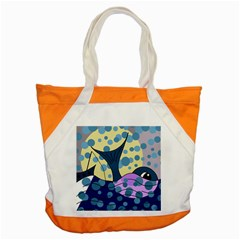 Whale Accent Tote Bag