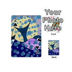 Whale Playing Cards 54 (Mini)