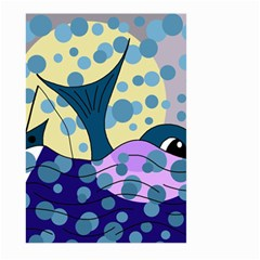 Whale Large Garden Flag (Two Sides)