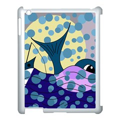 Whale Apple iPad 3/4 Case (White)