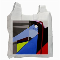 Street light Recycle Bag (Two Side)