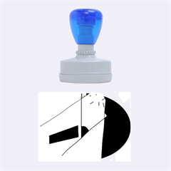 Street light Rubber Oval Stamps