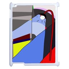Street light Apple iPad 2 Case (White)