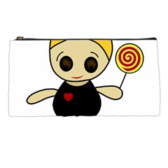 Cute doll girl Pencil Cases