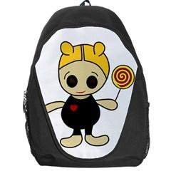 Cute doll girl Backpack Bag