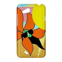 Sunflower on sunbathing HTC Desire VC (T328D) Hardshell Case