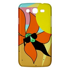 Sunflower on sunbathing Samsung Galaxy Mega 5.8 I9152 Hardshell Case