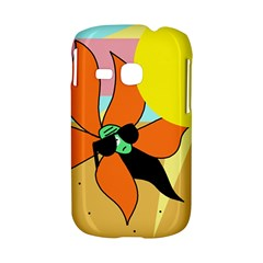 Sunflower on sunbathing Samsung Galaxy S6310 Hardshell Case